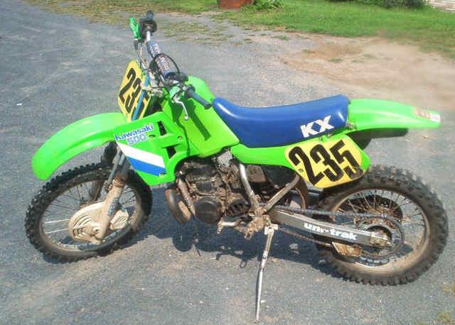 Kawasaki KX500 1987 Specs