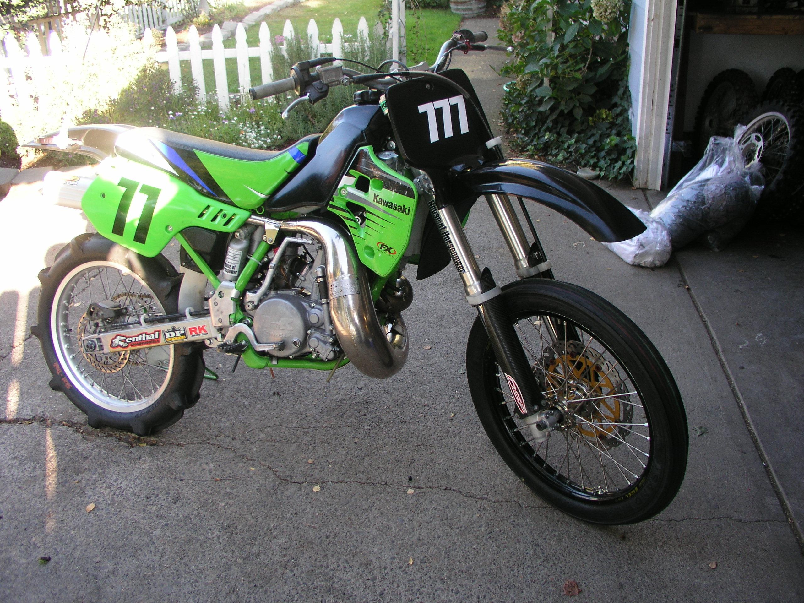 Kawasaki Kx  Radiator