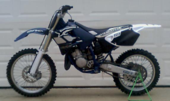 Yamaha Yz125 1996 Specs