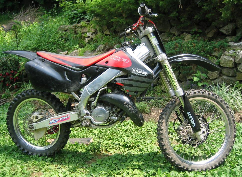 Cr R Honda Cr Cr on Yamaha Dirt Bike Oem Parts